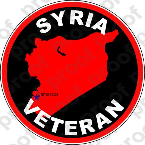 STICKER SYRIA VET