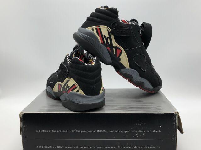 more photos f7e50 9ca0a Men s Size 8 Nike Air Jordan 8 Retro Low Black True Red-del Sol 306157 061  for sale online   eBay