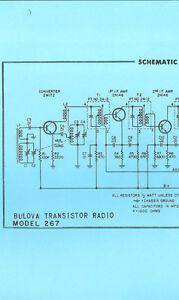 image is loading nice-copy-bulova-267-am-transistor-radio-schematic-