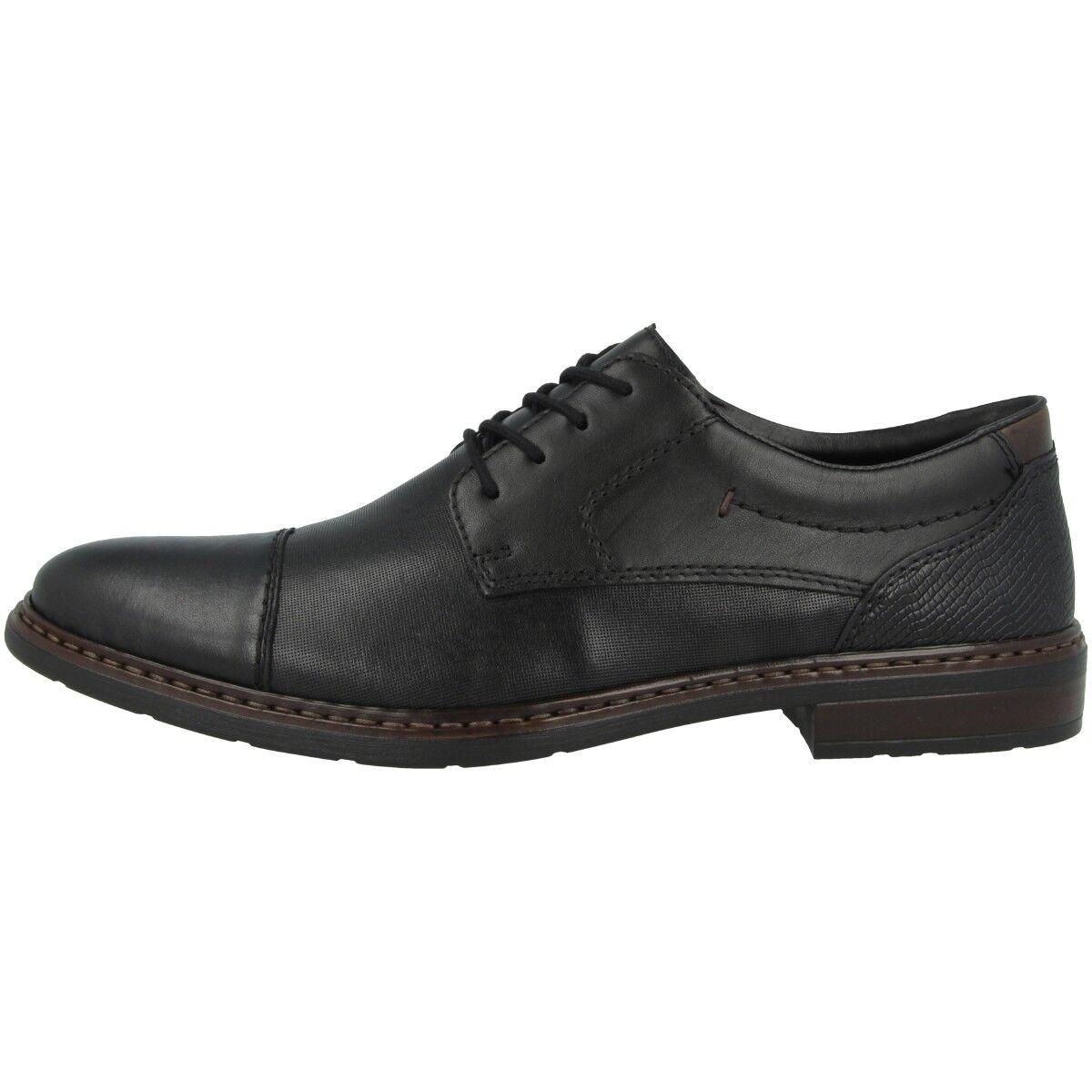 Rieker Lugano-Fino-Ambor shoes men Anti-stress Lacci 11719-00