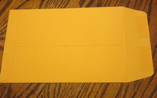 """15 KRAFT CATALOG ENVELOPES 6 1//2 X 9 1//2 MAILERS WITH GUMMED FLAP 6.5/"""" BY 9.5/"""""""