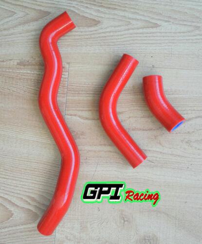 For Suzuki DRZ400 DRZ400S DRZ400SM 2002-2013 2003 Silicone Radiator Hose RED