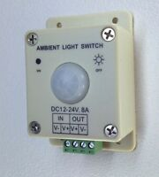 Photocell Tower Mast Led Lighting Ambient Sun Light Sensor Control 12 Volt Dc