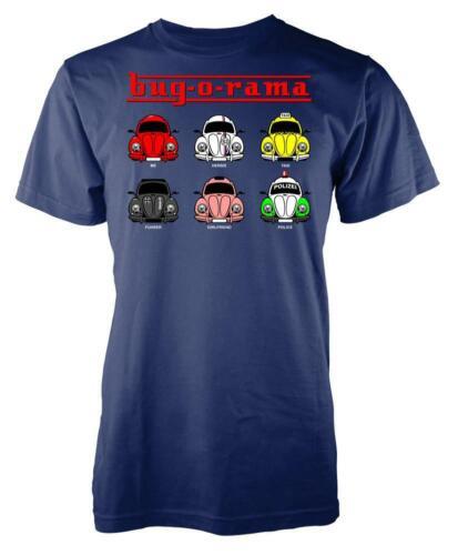 Bug-O-Rama Vintage Herbie Beetle Retro Vehicle Kids T Shirt
