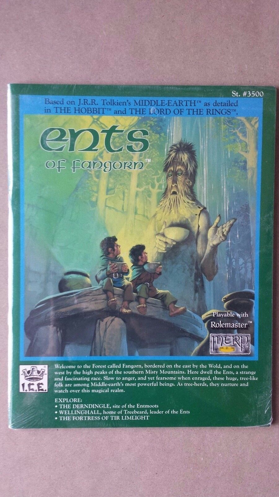 New MERP Middle Earth Ents of Fangorn 3500 FACTORY SEALED