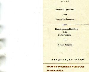 Menu-le-17-aout-1968-du-Restaurant-Hotel-Weisses-Kreuz-BREGENZ-AUTRICHE