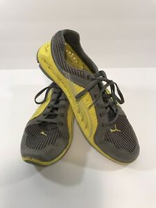 Details about Modern Vintage Puma L.I.F.T Racer Lightweight Trainers Yellow & Gray Motto