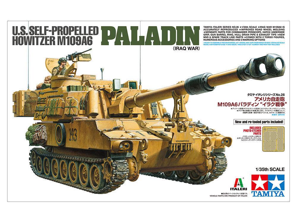 Tamiya 1 35 scale 1 35 M109A6 Paladin - Iraq War