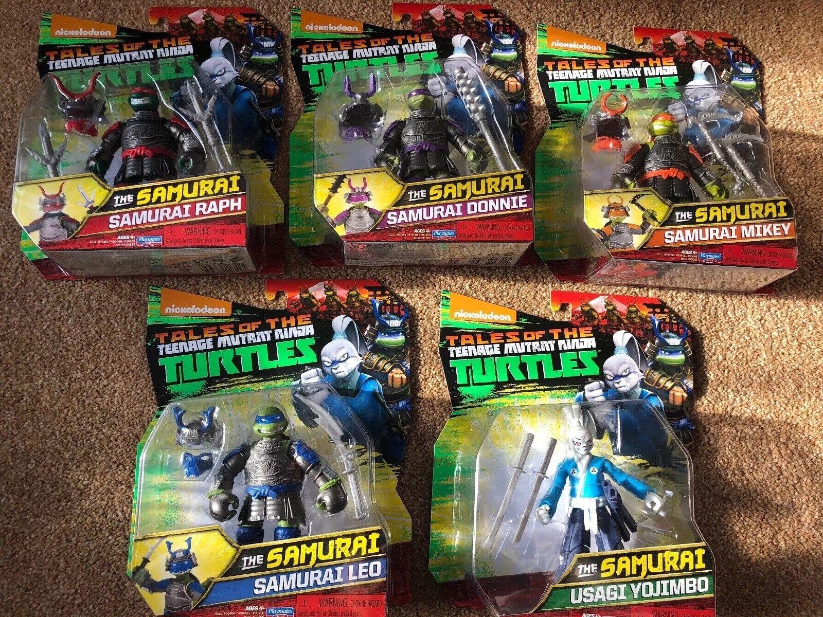 Tortugas Ninjas Adolescentes Mutantes TMNT-el Samurai Juego Completo  Nuevo  Paquete