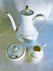 Kaffeekern-Hutschenreuther-Tirschenreuth-Chantileen-Melodie-mit-Goldrand