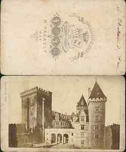 M Pacault Chateau De Pau CDV Vintage Albumen