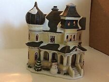 HOLIDAY HOME ACCENTS~CANTERBURY LANE~CHRISTMAS VILLAGE~CITY HOUSE~EUC
