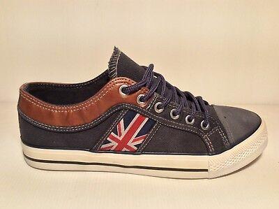 SCARPE UOMO DENVER BF-M23 col Blu Sneakers moda ragazzo