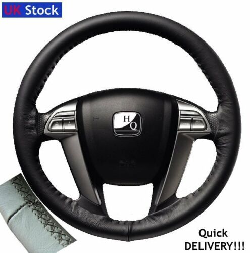 Italian Leather Steering Wheel Cover fit SSANGYONG