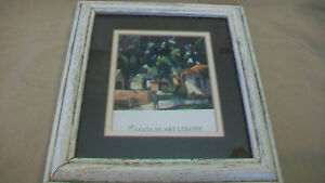 THE-SANTA-FE-ART-COLONY-FRAMED-AND-MATTED-PRINT-GARDENERS-AND-HOUSES