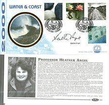 7 MARCH 2000 WATER AND COAST BENHAM BLCS 176b SIGNED BY HEATHER ANGEL FDC SHS