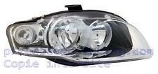 Faro Audi A4 de 10/2004 à 06/2007 transparente, derecho