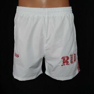 Bosco-Sport-034-RUSSIAN-OLYMPIC-TEAM-034-Herren-Shorts-weiss-rot-Kurz-2050