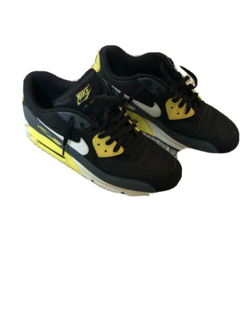 Nike Air Max 90 Mens Size 12 Black Yellow