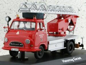 HANOMAG Garant - Bachert - Firetruck - SCHUCO 1:43