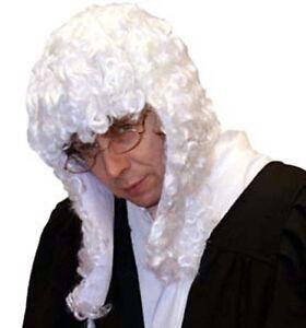 Big Wig Courtroom Clerical Barrister White Judges Judge