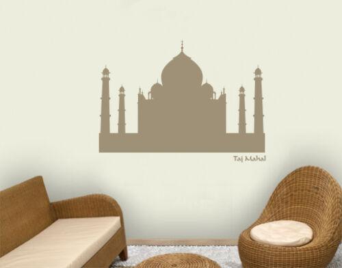 Murales taj mahal india mausoleo la meca salón Pegatina de pared bsm029