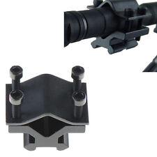 Adjustable Tactical 20mm Rail Barrel Mount Clamp for Rifle Scope Sight Light