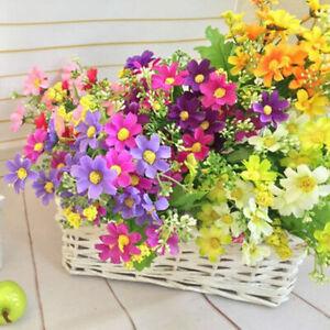 Artificial-Simulation-Gaensebluemchen-Blume-Plant-Wedding-Party-Home-Office-E1L3