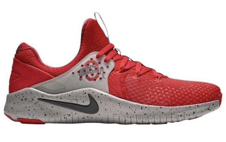 Mens Nike Free TR 8 Ohio State OSU AR0420-600 running shoes buckeyes 056