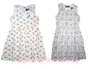 88357ca188 Image is loading Primark-Girls-Kids-Unicorn-Rainbow-Flamingo-Summer-Dress-