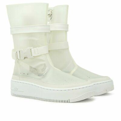 promo code 62f85 6c27f 8 Nike Women's Af1 Sage Hi LX Phantom White BOOTS Force Bq4805 001  Transparent