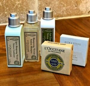 Xmas-Bundle-L-039-Occitane-En-Provence-Verbena-Shampoo-Conditioner-Lotion-Soap-amp-Cap