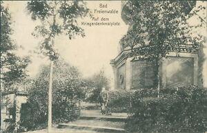 Ansichtskarte Bad Freienwalde Auf dem Kriegerdenkmalplatz 1910  (Nr.896)