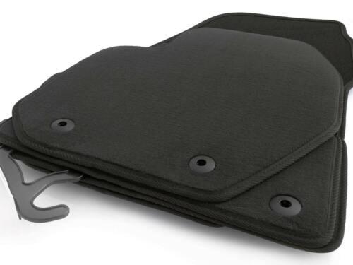 NEU Fußmatten Volvo XC60 Original Qualität Velours Autoteppich 4.teilig schwarz