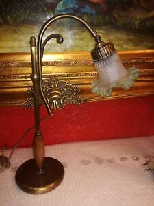 Lamps Bellissima Applique Lampada Liberty Art Nouveau Ottone A Pantografo Originale Decorative Arts