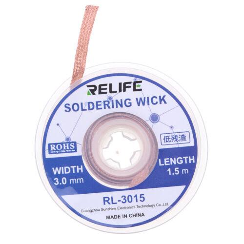 Solder Wire Tin Suction Wire Braid BGA Tools For Precision PCB RMA Tin Remove