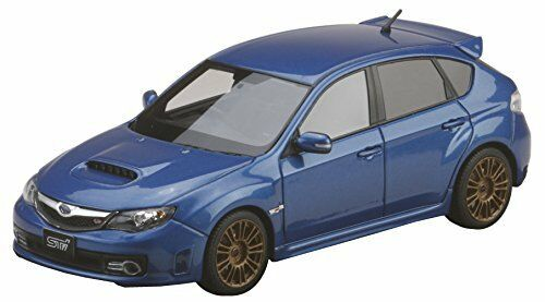 w// Genuine Option WR Blue PM4370SBL GRB MARK 43 1//43 Subaru Impreza WRX STI