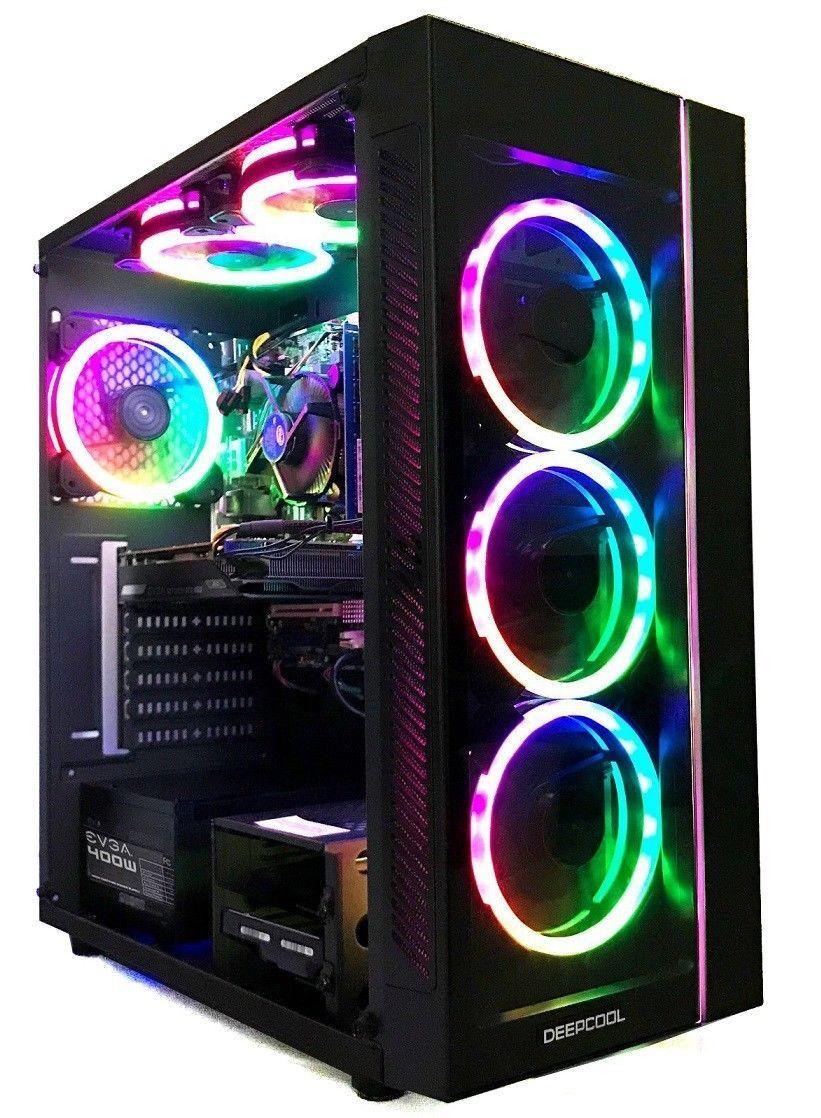 Nvidia Gaming PC Desktop Computer 8 Core AMD 4 2GHz 2TB HD 16GB Ram 3GB GTX  1060