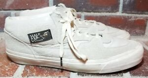 ed47c99a24 Vans Vault x Star Wars Yoda OG Half Cab Off White High Top Sneakers ...