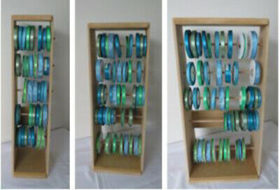 RIBBON STORAGE//UNITS//STAND//HOLDERS//RACKs FOR CRAFT  now available in 3 sizes