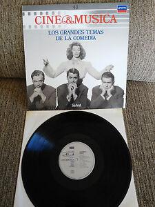 LOS-GRANDES-TEMAS-DE-LA-COMEDIA-SOUNDTRACK-LP-VINYL-VINILO-12-034-1987-VG-VG-LOND