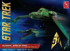 AMT Star Trek Klingon Bird of Prey 50th Anniversary model kit  1/350