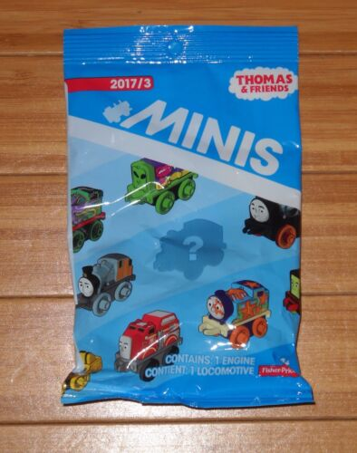 2017 WAVE 3 NEW THOMAS AND FRIENDS MINIS #170 STEELWORKS SAMSON SEALED BAG
