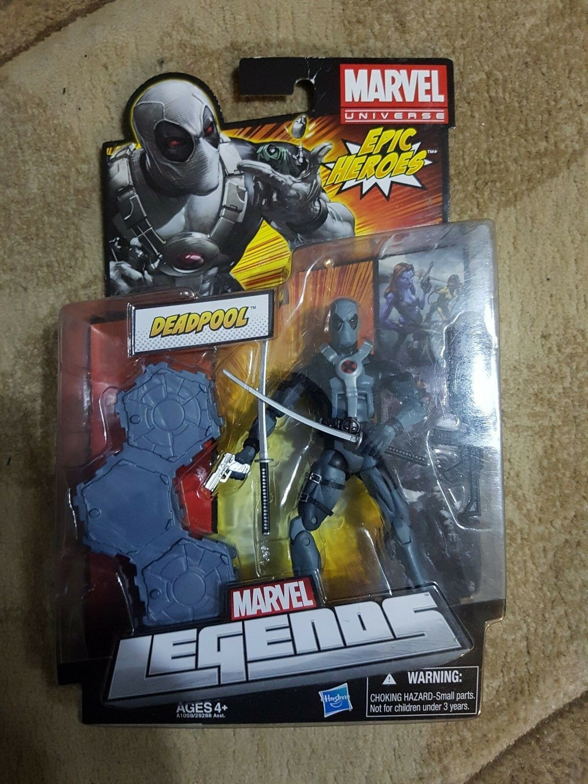 Marvel legends deadpool epic heroes x-force new genuine