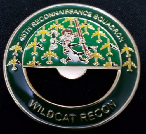 USAF 45th Reconnaissance Squadron Wild Cats In God we trust all others we monito