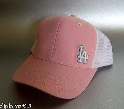 Sonderabschnitt New Baseball Los Angeles Cap La Dodgers Mesh Cap Pink AusgewäHltes Material Fanartikel