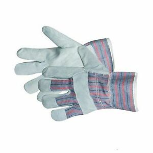 Rigger Gloves leather palms hand protection safety workwear High quality