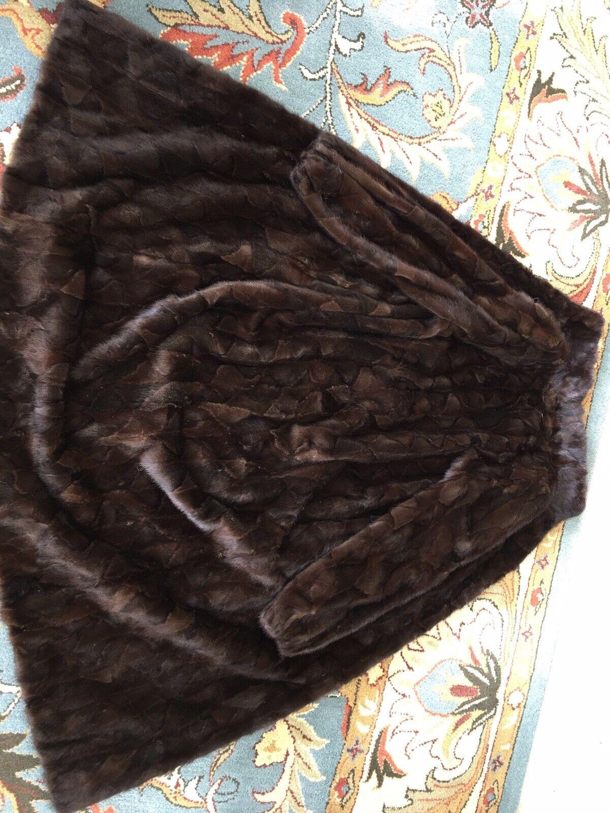 """Dark Brown Mink Fur Coat Full Lenght  """"Diane Furs… - image 11"""