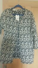 DEFINE WOMAN BLACK & GREY SIZE S/M JACKET NEW WITH TAGS