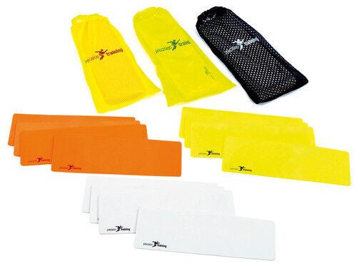 New PT Rectangular Marker Multisport Training Marker Multicolour Set Of 10